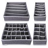 Navaris 4X Organizadores de cajones con Compartimentos - Caja de almacenaje de...