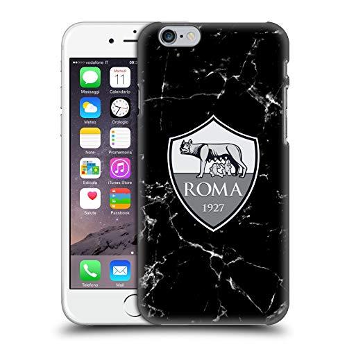 Head Case Designs Licenza Ufficiale AS Roma Marmoreo Cresta Cover Dura per Parte Posteriore Compatibile con Apple iPhone 6 / iPhone 6s