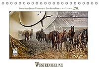 Western-Feeling (Tischkalender 2022 DIN A5 quer): Westernreiten ... Faszination und Leidenschaft (Monatskalender, 14 Seiten )