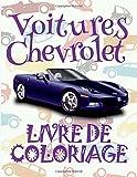 Voitures Audi Livre de Coloriage:  Cars Chevrolet ~ Coloring Book Cars ~ Coloring Books for Adults Relaxation  (Coloring Book for ... Small ~ Livres de Coloriage Voitures