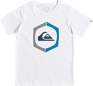 Maglietta da Ragazzo 8-16 Maglietta Bambino Quiksilver Time Circle
