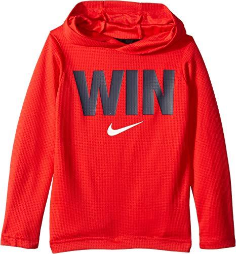 Nike Kids Boy's Thermal Verbiage Pullover (Little Kids) University Red 5 Little Kids