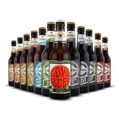 Craftbeer-Shop Camba Bavaria-Paket Craft Beer, MEHRWEG (12 x 0.33 l)