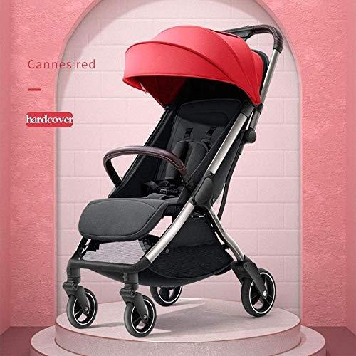YONGYONGCHONG Wagen Cabrio Kinderwagen Wagen, Multifunktionskinderwagen beweglicher Pram CLightweight Kinderwagen Baby-Reise-Shopping Dreirad