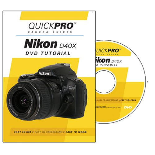 Nikon D40X Instructional DVD by QuickPro Camera Guides