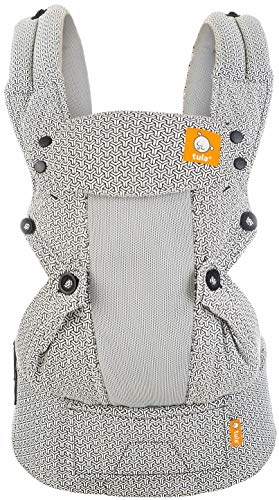 Baby Tula Coast Explore Mesh Baby Carrier, Adjustable Newborn to Toddler Carrier, Ergonomic and Multiple Positions for 7 – 45 pounds (Coast Graphite)