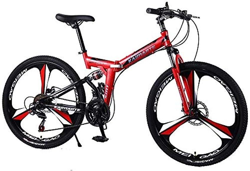修正する積分写真を撮るマウンテンバイク26分の24インチスチール24分の21/27スピードデュアルディスクブレーキの自転車可変速ロードバイクレーシング自転車 0722 (Color : 26inch, Size : 21speed)