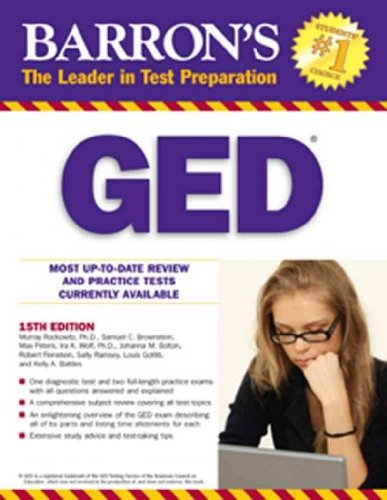 (Barron's GED High School Equivalency Exam) By Rockowitz, Murray (Author) Paperback on (02 , 2010)