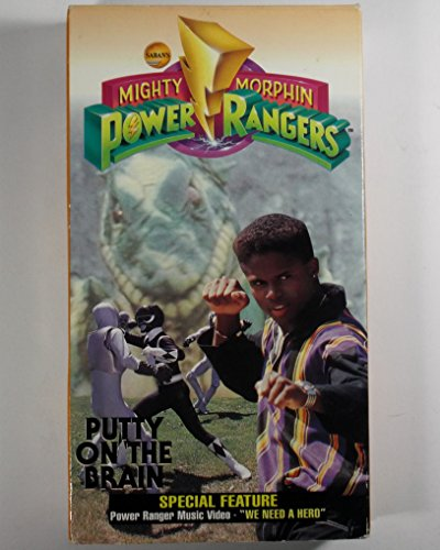Mighty Morphin Power Rangers: Putty on the Brain [VHS] [Import]