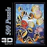 Spielspass Verlag 44302 - Tropical Fish 3D Puzzle, 500 piezas