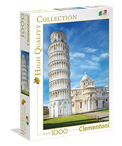Clementoni- High Quality Collection-Pisa Puzzle, 1000 Pezzi, Multicolore, 39455