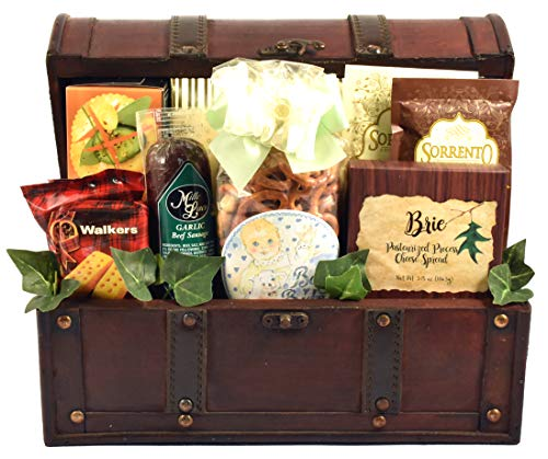 Gift Basket Village Congratulations On Your New Arrival!, New Baby Gift Basket for Proud New Parents