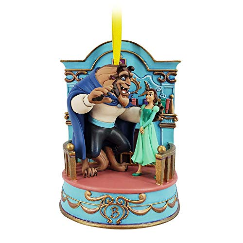Disney Belle Singing Living Magic Sketchbook Ornament – Beauty and The Beast