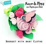 Ramo de 'Flores' para Bebés con BODY, GORRITO, CALCETINES Y BABERO | Todo es de...