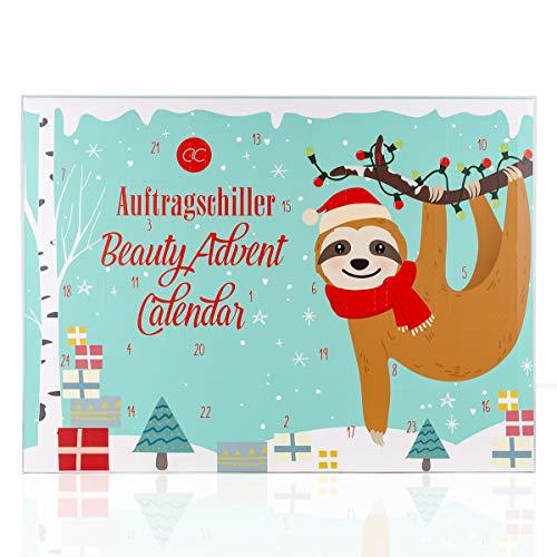 Accentra - Calendario de Adviento para niñas y niños con 24 productos para el baño, el cuidado del cuerpo y los accesorios para una época de Adviento variada y mima