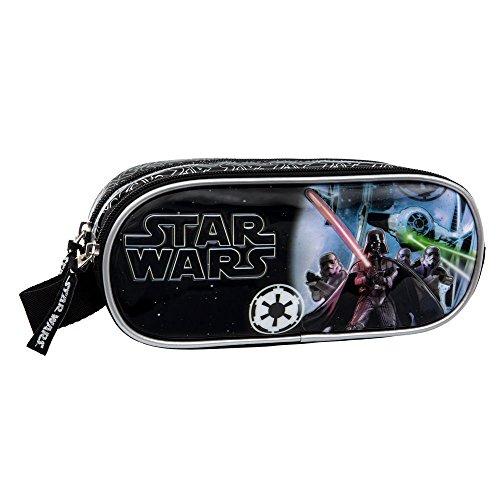 Star Wars Estuche Doble Compartimento