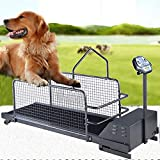 MMUY-1 PET Treadmill,Collapsible Pet Fitness Treadmill with LCD Display and Can Automatically Rise and Fall...