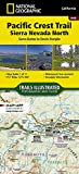 Pacific Crest Trail: Sierra Nevada North [Sierra Buttes to Devil s Postpile] (National Geographic Topographic Map Guide (1008))