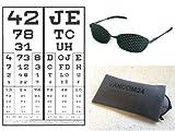 BioTec Pack complet paire de lunettes à grille de luxe avec entraînement pour les...