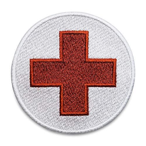 Finally Home Rotes Kreuz Patch zum Aufbügeln | DRK Medic Patches, Bügelflicken, Flicken, Aufnäher