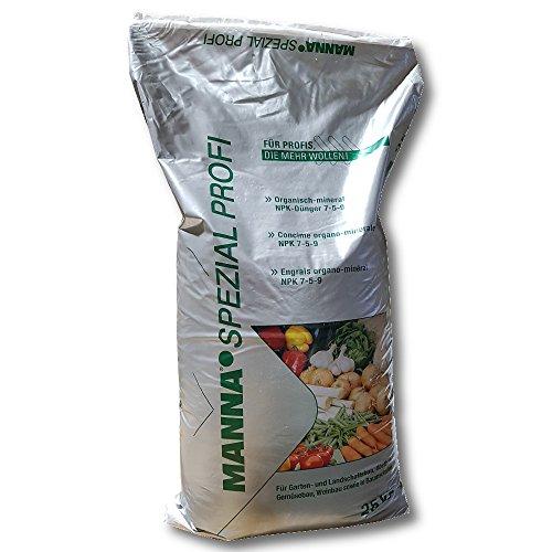 Manna Spécial Professionnel Engrais Universel 25 kg Engrais de Floraison Engrais Légumes Engrais Fruits