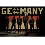 Rammstein Poster Germany Mehrfarbig, Offizielles Band