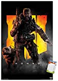 Trends International Call of Duty: Black Ops 4 - Nomad Key Art Wall Poster, 22.375' x 34', Premium Poster & Mount Bundle