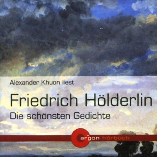 『Friedrich Hölderlin - Die schönsten Gedichte』のカバーアート