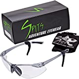 Thresher Cycling / Running Bifocal Sunglasses Clear or Smoke Lenses (Clear Lenses, 2.00)