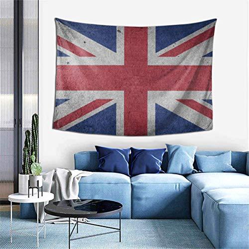 Tapiz para colgar en la pared, Bandera Reino Unido Reino Unido Gran Bretaña Inglaterra Europa Tapices para dormitorio Sala de estar Dormitorio, Manta de pared Toallas de playa Decoración del hogar