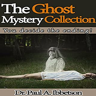 The Ghost Mystery Collection audiobook cover art
