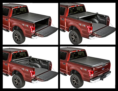 Gator Sr1 Premium Roll Up Tonneau Truck Bed Cover 2015 2018 Ford F150 5 5 Ft Bed Buy Online In Barbados At Desertcart