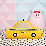 VIOYO 30/50/70 cm Juguete de Peluche de Taxi de simulación de Felpa para niños cojín para Dormir Almohada Suave en Forma de Coche muñeca Regalo para niños