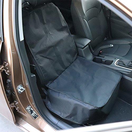 C-FUNN zwart auto copilot stoel Oxford doek niet slip huisdier mat reizen stoel hond beschermer draagkussen pad