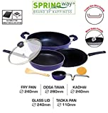 SPRINGWAY - Brand of Happiness Induction Base 3 Layer Non-Stick Coating Aluminium Cookware