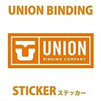 UNION【ユニオン】ビンディング ステッカー LOGO ロゴ[Mサイズ] スノーボードステッカー [その他]