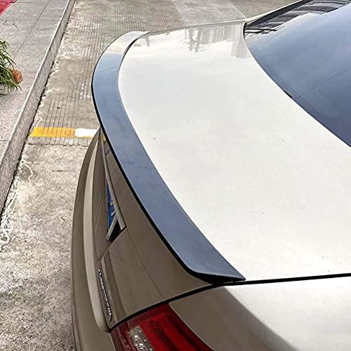 Coche Alerón Trasero de Carbono Adecuado para Mercedes-benz C Class W204 2008-2014 4-door, AleróN Fibra de Carbon Trasero Coche