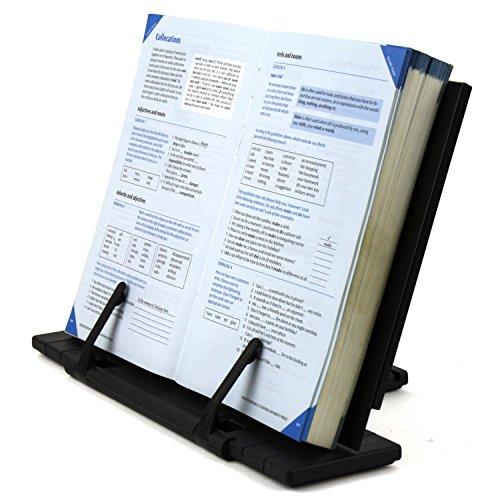 H&S® Reading Rest Cookbook Cook Recipe Kitchen Book Holder Stand Bookrest