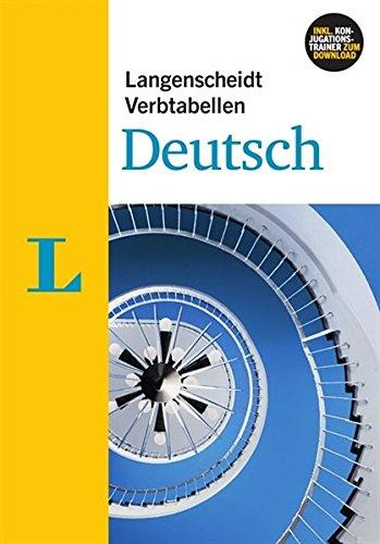 Langenscheidt grammars and study-aids: Langenscheidt Verbtabellen Deutsch - New