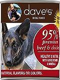 Dave's Premium Beef & Chicken 95% Meat CASE