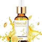 Vitamine C Serum pour Le Visage avec Acide Hyaluronique & Vitamine E Sérum Visage pour Anti Rides, Anti Age & Eclaircissant Vitamine C Huile Sérum Facial Soin Visage