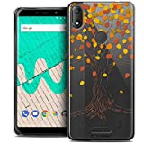 Ultra Slim Case for 6 Inch Wiko View Max, Autumn 16 Tree
