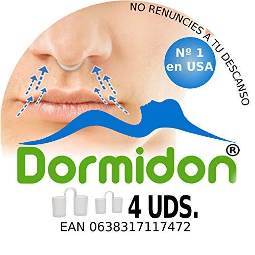 Dormidon® - Dilatador Nasal 4 unidades - 2 Tamaños Distintos - 2 Acabados Distintos - Modelo De Dilatador - Modelo Numero 1 En EEUU  - Duerme Bien Con Los Dilatadores Nasales - Marca Española - Satisfacción Asegurada