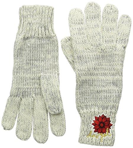 Desigual Damen Handschuhe Gloves_Electra, Grau (Gris Vigore Claro 2042), One size