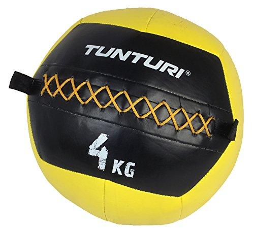 Tunturi Functional Fitness Balon Medicinal, Unisex Adulto, Yellow, 1
