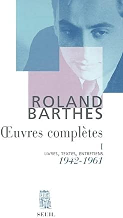 Oeuvres complètes : Tome 1, 1942-1961