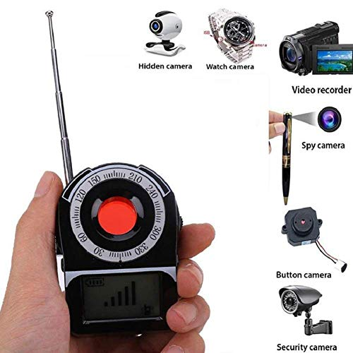 Read About MAXAudio GPS GSM WiFi G3 G4 SMS Tracker Detector, Wireless Signal Miniature Camera Lens F...