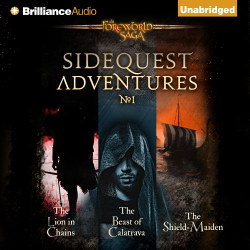 SideQuest Adventures audiobook cover art