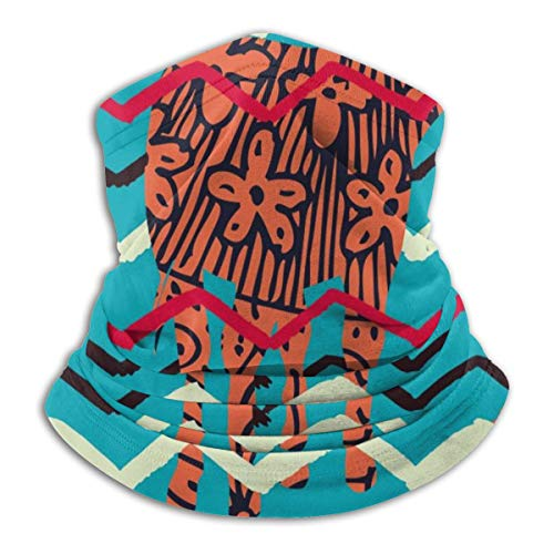 SARA NELL Neck Gaiter Headwear Face Sun Mask Magic Scarf Bandana Balaclava -  Orange -  One Size