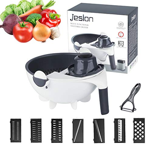 Jeslon Multifunction Vegetable Cutt…